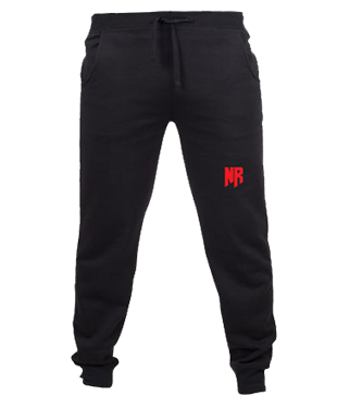 Never Relinquish - Slim Cuffed Jogging Bottoms