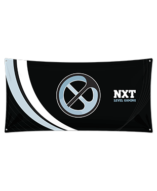 NXT Level Gaming - Wall Flag