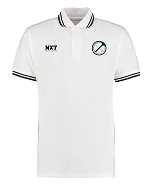 NXT Level Gaming - Contrast Tipped Poly/Cotton Piqué Polo Shirt