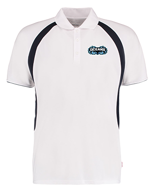 Oceans - Contrast Polo Shirt