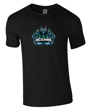 Oceans - SoftStyle® Ringspun T-Shirt