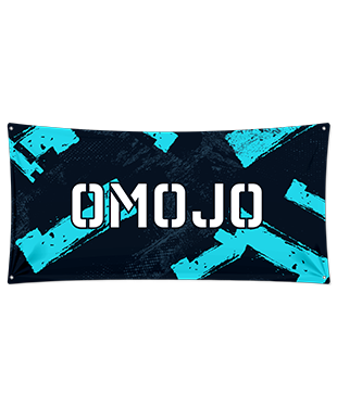 Omojo Gaming - Wall Flag
