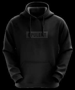 Opulent - Casual Hoodie - Blackout Invert