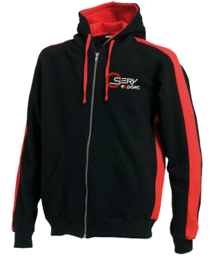 Oserv - Hoodie with Zipper