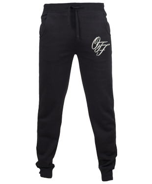 OTF - Slim Cuffed Jog Pants - Black