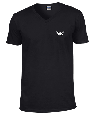 Over the Wings - V Neck T-Shirt