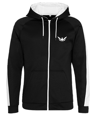 Over the Wings - Contrast Sports Zoodie