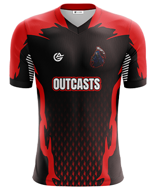 Outcasts - Short Sleeve Esports Jersey