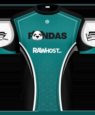 Pandas - 2017 Short Sleeve Jersey