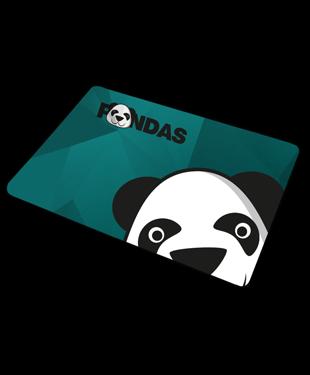 Pandas - Mousepad