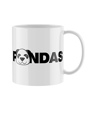 Pandas - Printed Mug