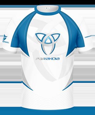 Paranoia eSports - 2017 Short Sleeve Jersey