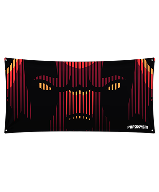 Paroxysm - Wall Flag