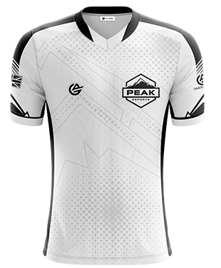 Peak Esports - Pro Short Sleeve Jersey - White