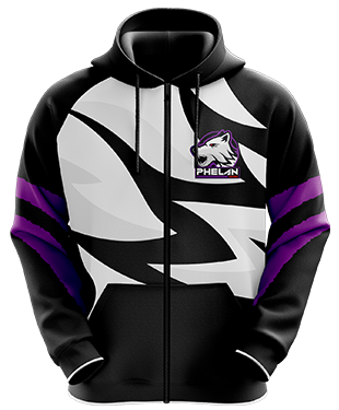 Phelan Gaming - Esports Hoodie with Zipper