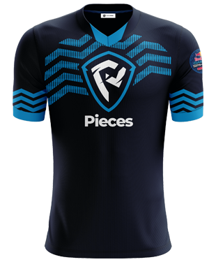 Pieces - Short Sleeve Esports Jersey