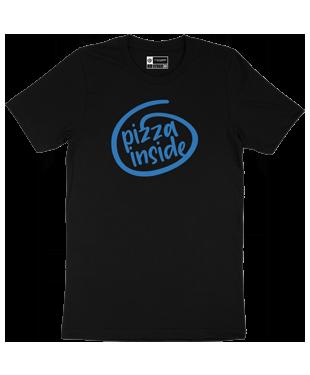 Pizza Inside - Organic T-Shirt