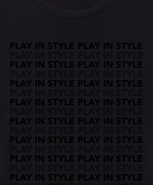 Play In Style - Outline Blackout - Unisex T-Shirt