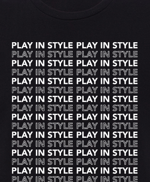 Play In Style - Outline - Unisex T-Shirt