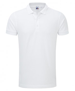 Russell - Stretch Piqué Polo Shirt