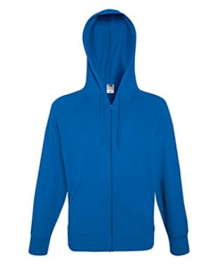 Fruit of the Loom - Lightweight Zip Hooded Sweatshirt