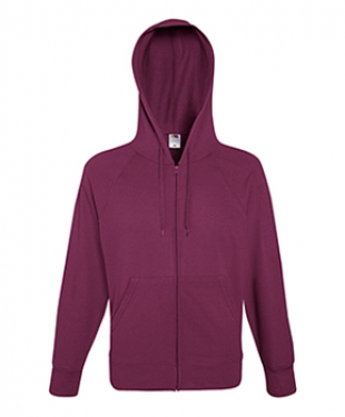 Lightweight Hooded Raglan Sweat Jacket