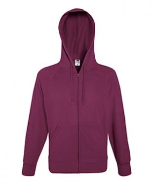 Lightweight Hooded Raglan Sweat Jacket