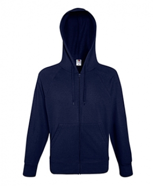 Fruit of the Loom - Lightweight Zip Hooded Sweatshirt