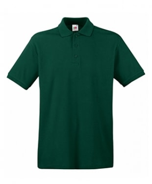 Fruit of the Loom - Premium Tipped Cotton Piqué Polo Shirt