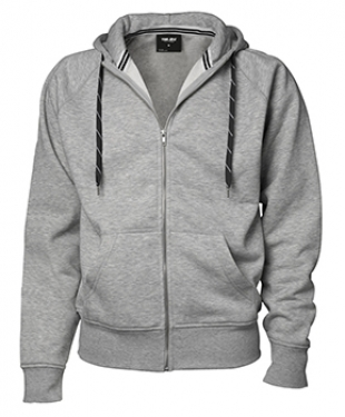 Fashion Full Zip Hooded Sweat