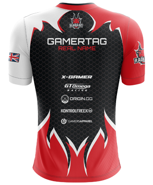 Radiant Esports - 2019 Pro Short Sleeve Jersey - Black