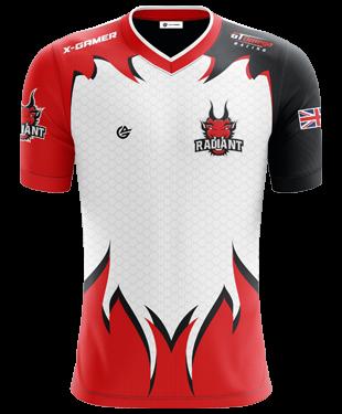Radiant Esports - 2019 Pro Short Sleeve Jersey - White