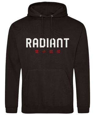 Radiant Esports - Chinese Text Hoodie
