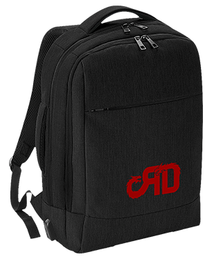 Red Dragons - Q-Tech Charge Convertible Backpack