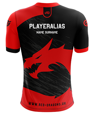 Red Dragons - Pro Short Sleeve Esports Jersey