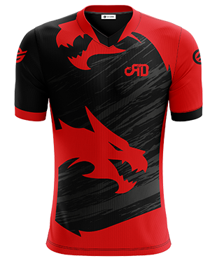 Red Dragons - Short Sleeve Esports Jersey