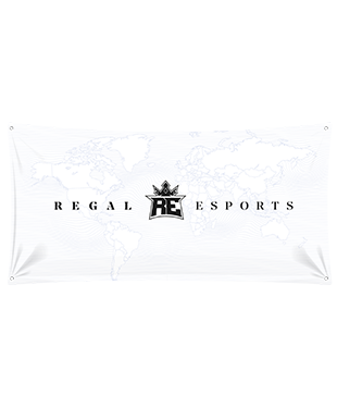 Regal Esports - Wall Flag