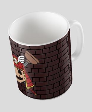 Samurai Mario Mug