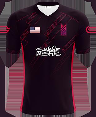 Savage Misfits - Pro Short Sleeve Esports Jersey