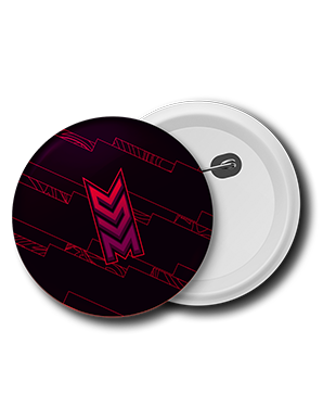 Savage Misfits - Badge Pack (3 x Pin Badges)