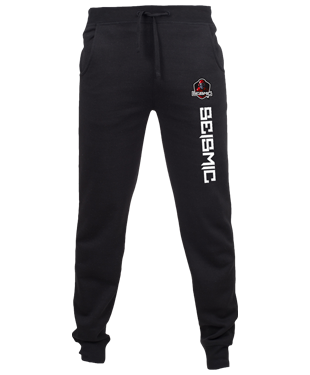 SeismicGaming - Slim Cuffed Jogging Bottoms