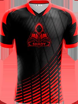 Shady - Short Sleeve Esports Jersey