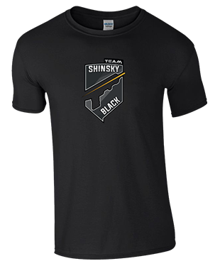 Shinsky Black - T-Shirt