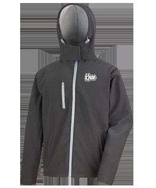 Knoe - Hooded Soft Shell Jacket