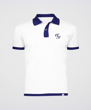 SK Gaming - Polo Shirt - White