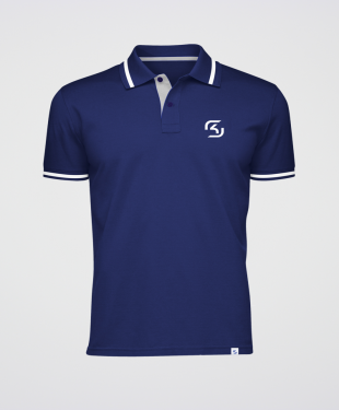 SK Gaming - Polo Shirt - Blue