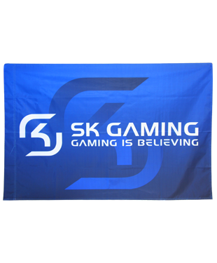 SK Gaming - Premium Supporter Flag