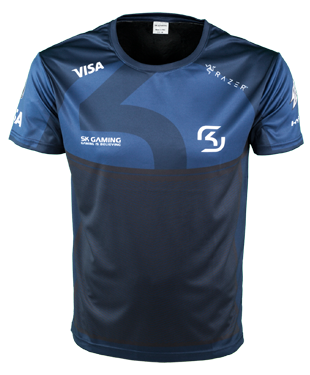 SK Gaming - Player Jersey - 2018 - Blue