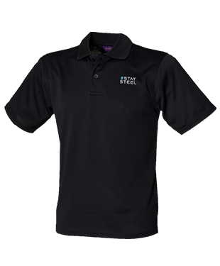 Steel eSports - Coolplus Wicking Pique Polo Shirt
