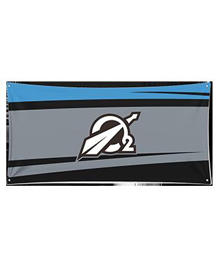 Oxygen - Wall Flag
